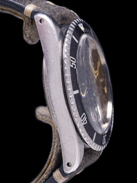 Tropical 1960 Tudor Submariner (Ref. 7928) Gilt Chapter Ring Dial W/ PCG