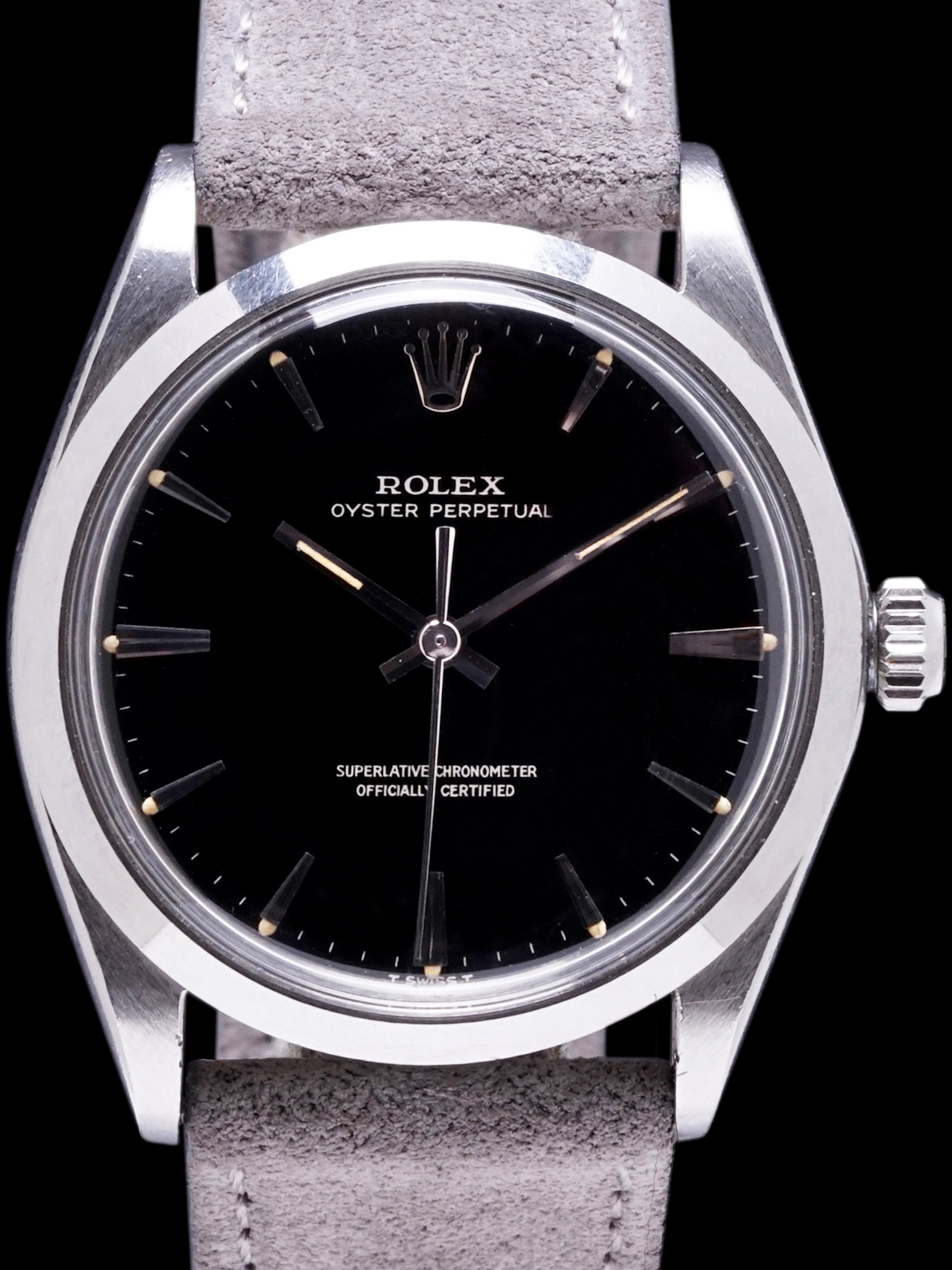 1967 Rolex Oyster-Perpetual (Ref. 1002) Gilt Dial