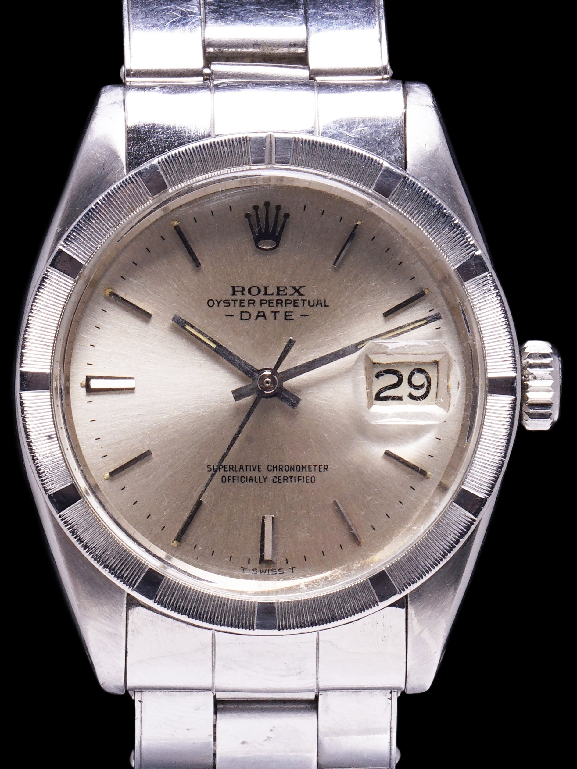 1966 Rolex Oyster-Perpetual Date (Ref. 1501) With Box and Double Punched Papers - Saigon Special