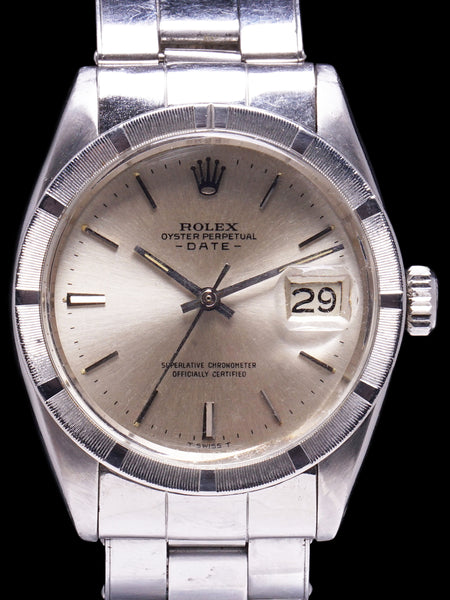 """Saigon Special"" 1966 Rolex Oyster-Perpetual Date (Ref. 1501) With Box and Double Punched Papers"