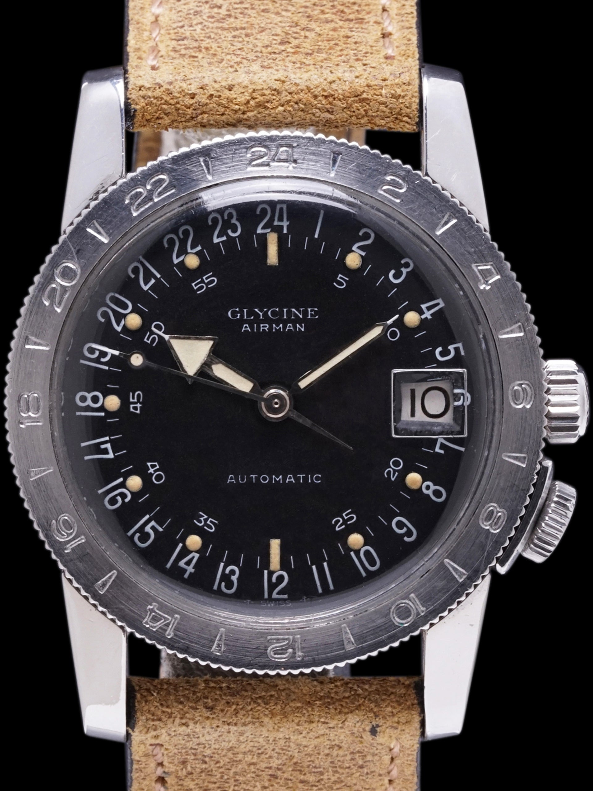 1960s Glycine Airman Automatic
