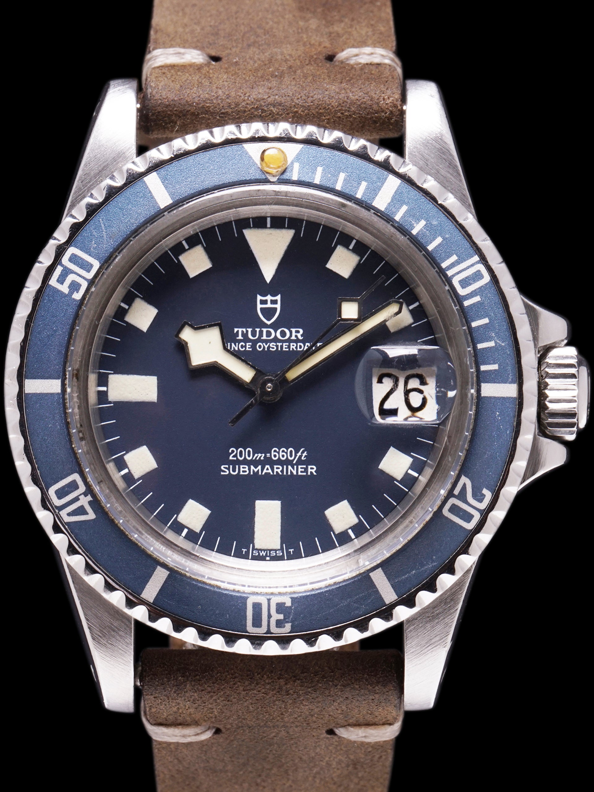 "1980 Tudor Blue Submariner (Ref. 94110) ""Snowflake"""