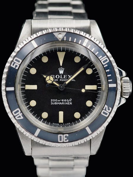 "1968 Rolex Submariner (Ref. 5513) ""Meters First"""