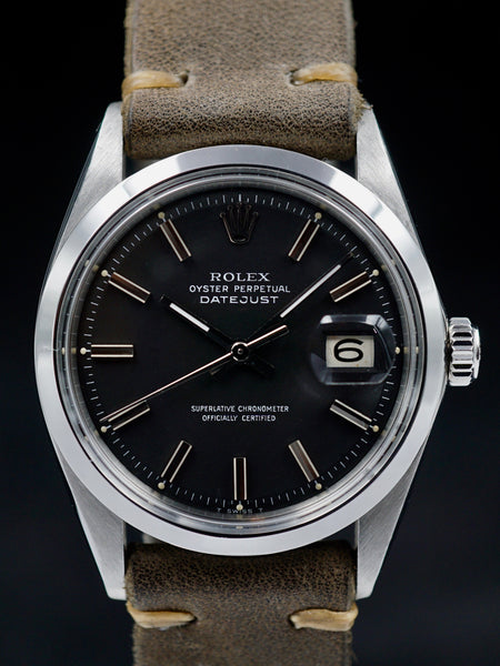 "1975 Rolex Datejust (Ref. 1600) ""Wide Boy Dial"""