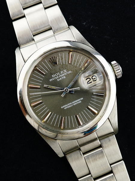 Rare 1971 Rolex Oyster Perpetual Date Radial Dial