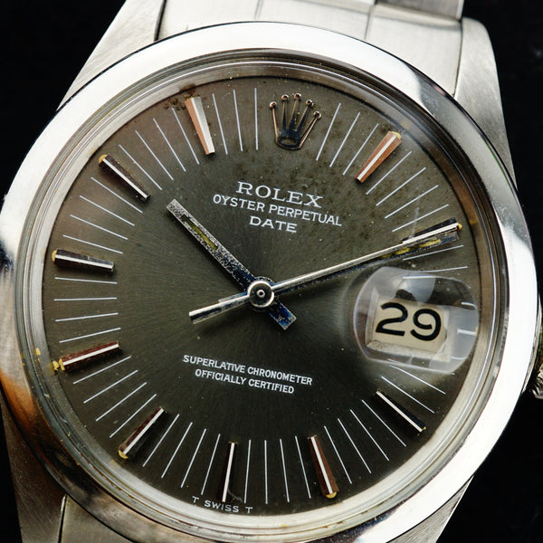 1971 Rolex Oyster Perpetual Date Radial Dial