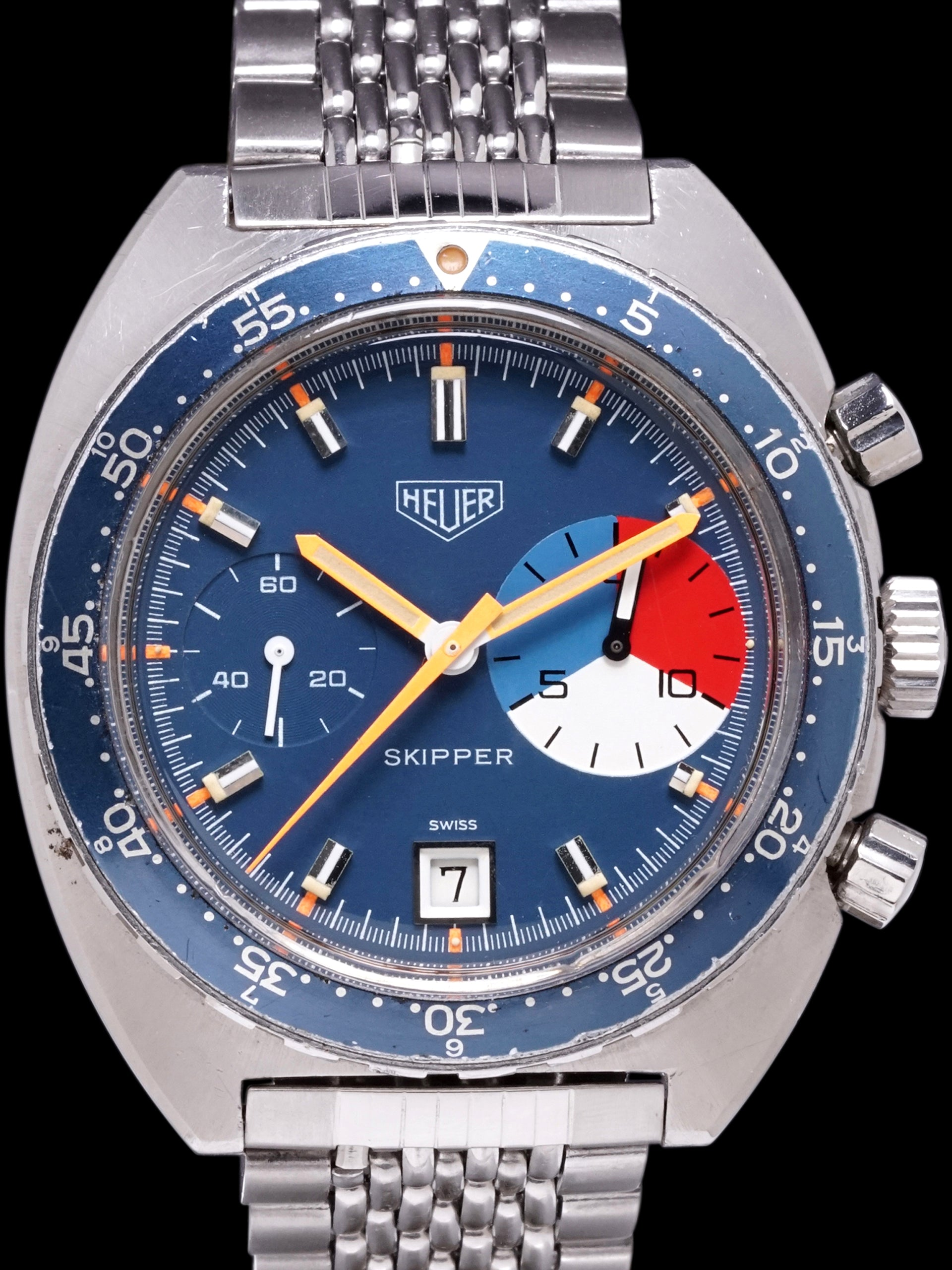 "1971 Heuer Skipper (Ref. 73463) Mk.1 ""Manual Wind"""