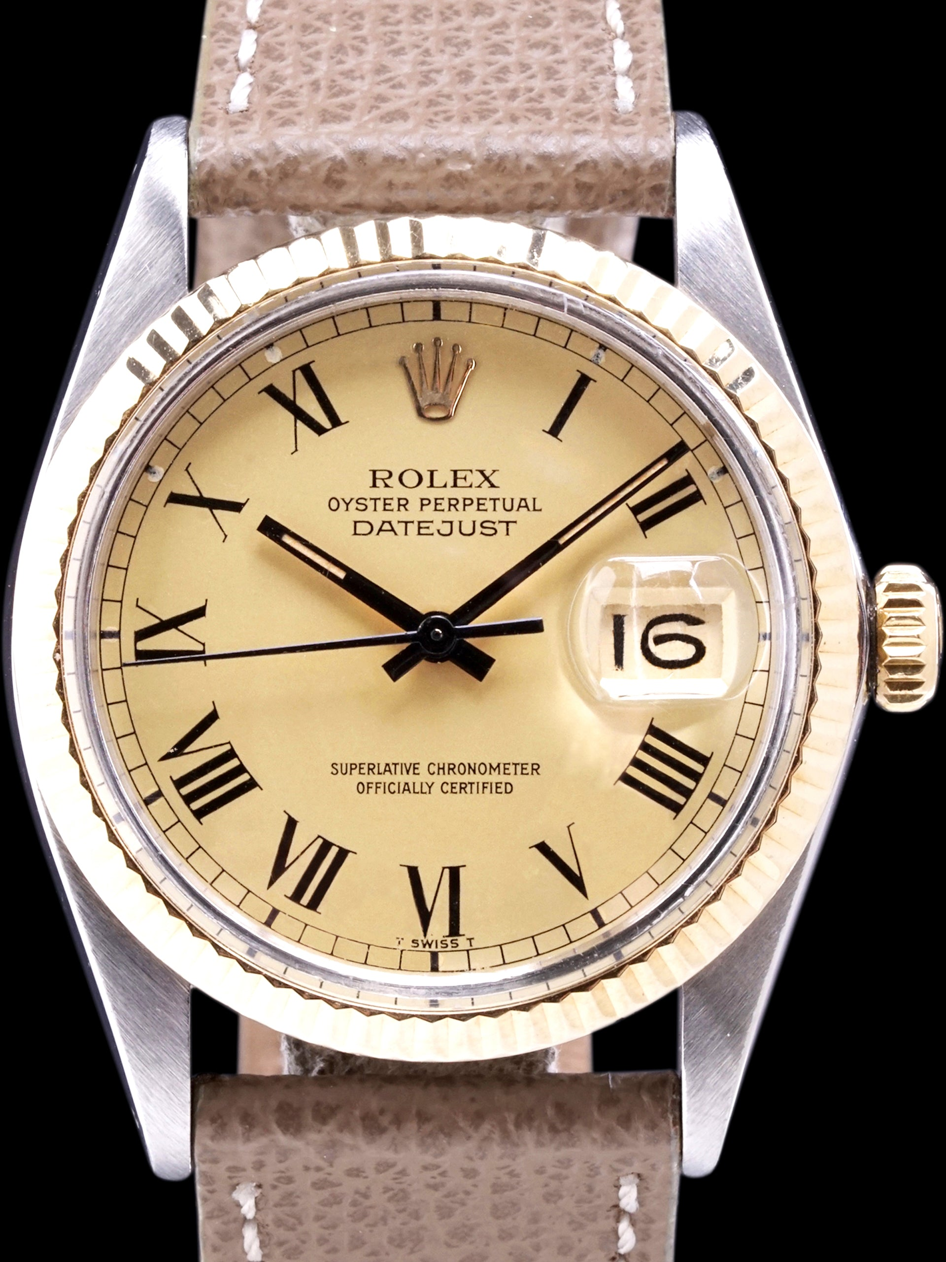"1984 Rolex Two-Tone Datejust (Ref. 16013) ""Buckley Dial"""