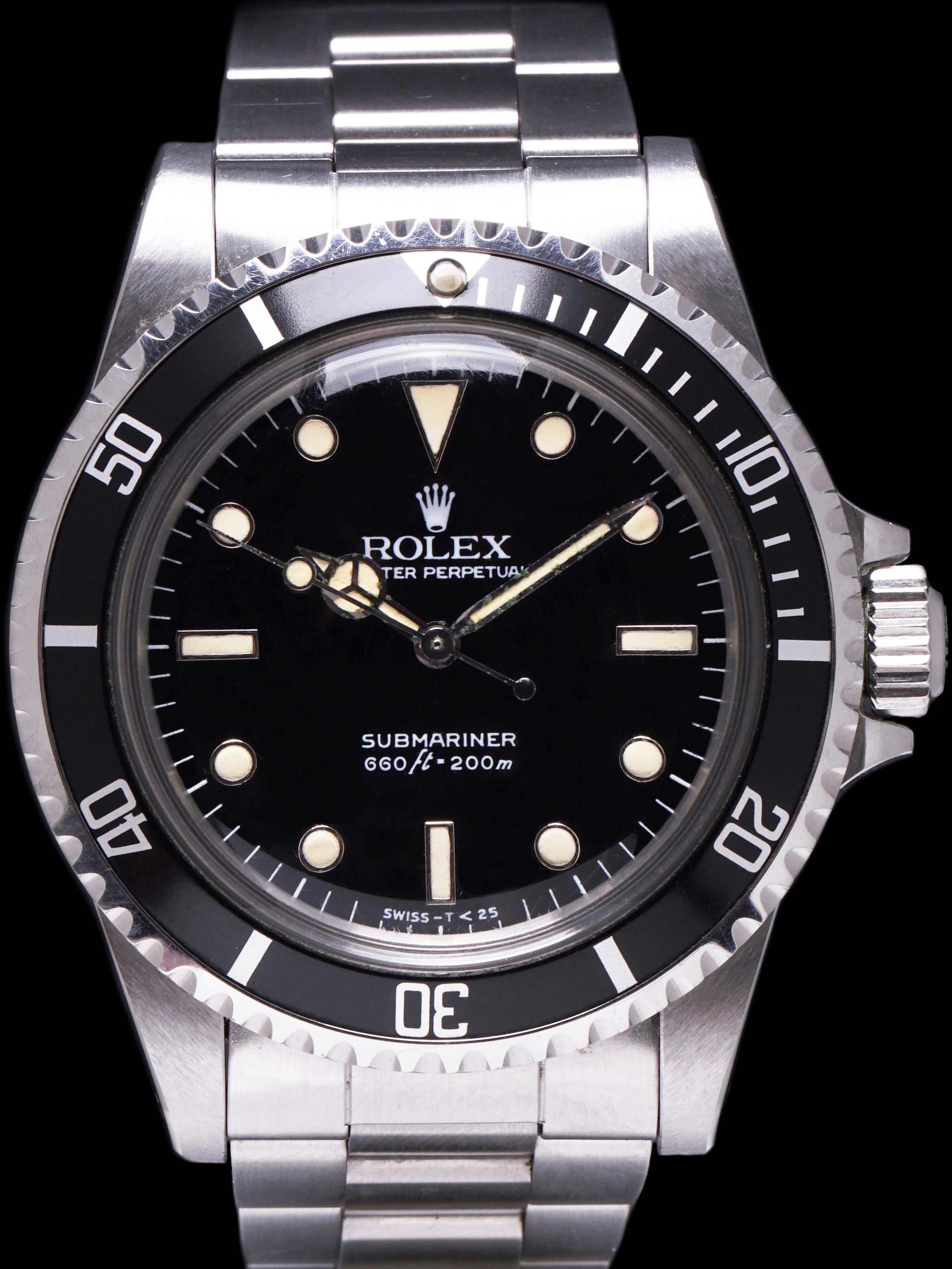 "*Unpolished* 1984 Rolex Submariner (Ref. 5513) ""Spider Dial"""