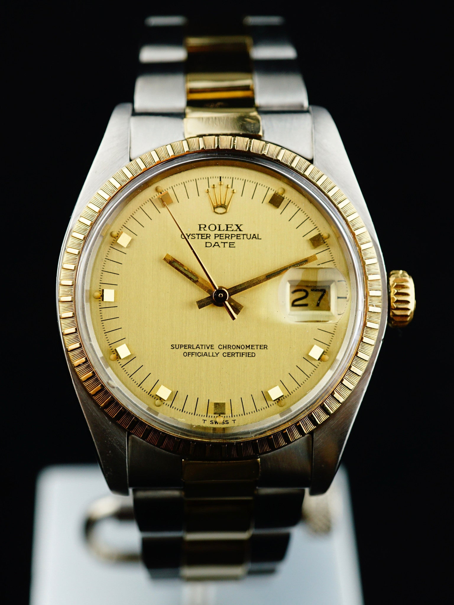 1979 Rolex Oyster Perpetual Date (Ref. 1505) Two Tone