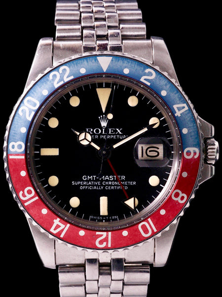 1978 Rolex GMT-Master (Ref. 1675) Mk. IV W/ Box and Papers