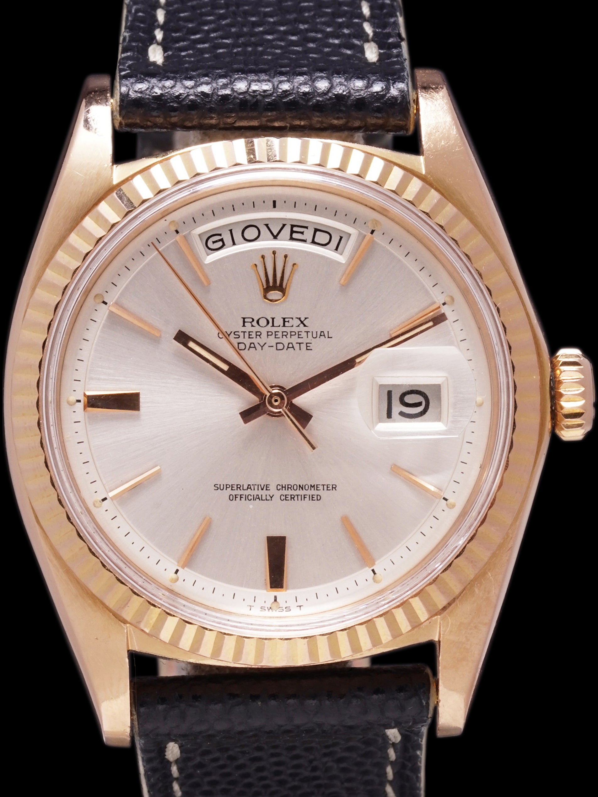 1969 Rolex Day-Date (Ref. 1803) 18K Rose Gold