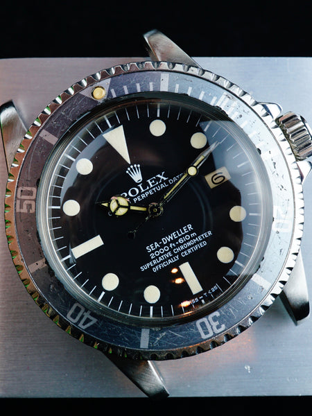 "1978 Rolex Sea-Dweller (Ref. 1665) MK I ""Great White"""