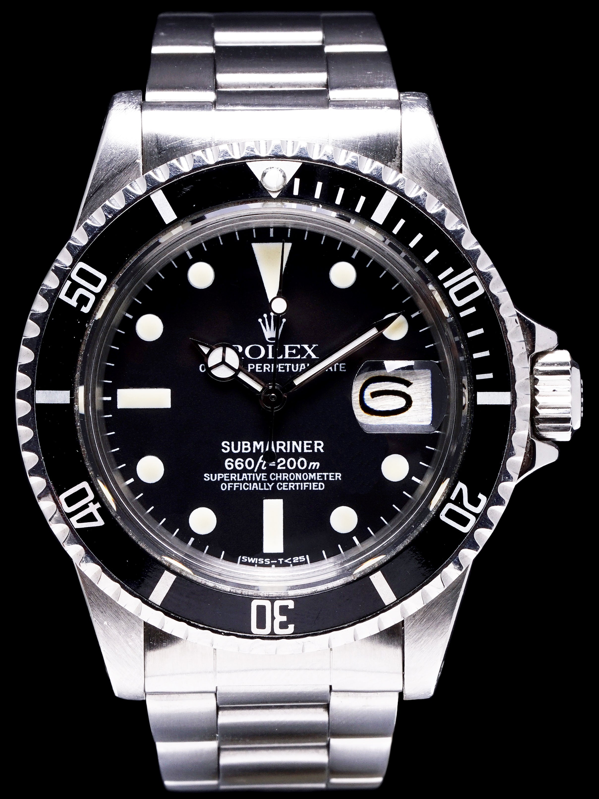 *Unpolished* 1978 Rolex Submariner (Ref.1680)
