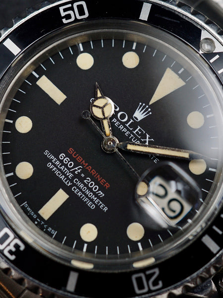 1972 Rolex Red Submariner Ref. 1680 (Mk V Dial)