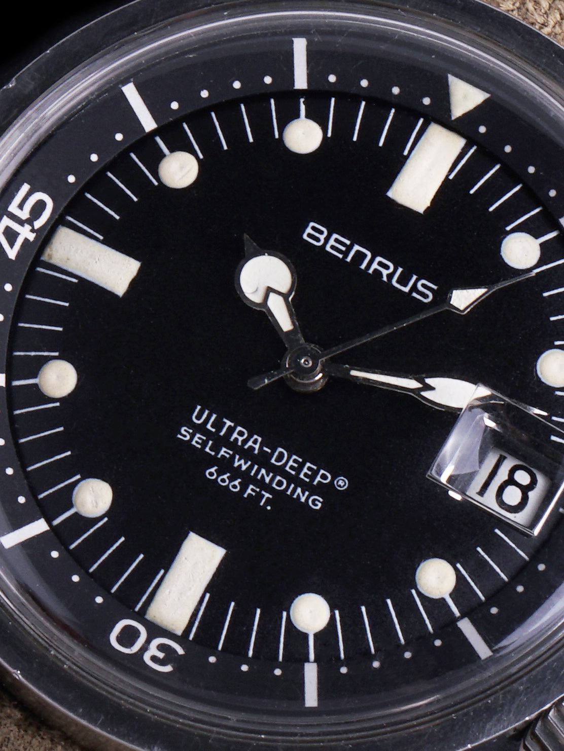 1960s Benrus Ultra-Deep (Ref. 6089) Super-Compressor