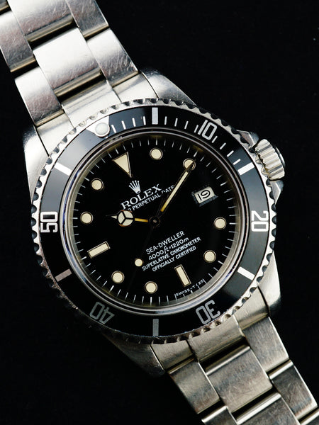 1984 Rolex Sea Dweller Ref. 16660 SUPER Spider Dial