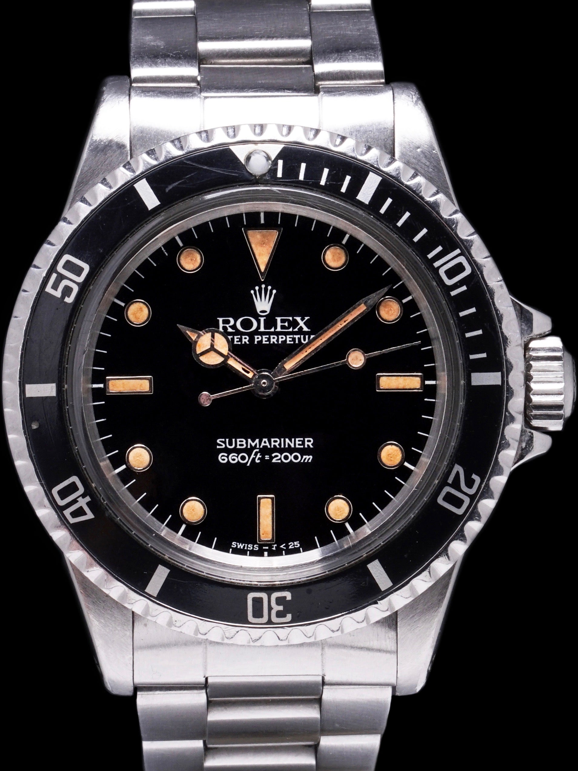 "1986 Rolex Submariner (Ref. 5513) ""Pumpkin"""