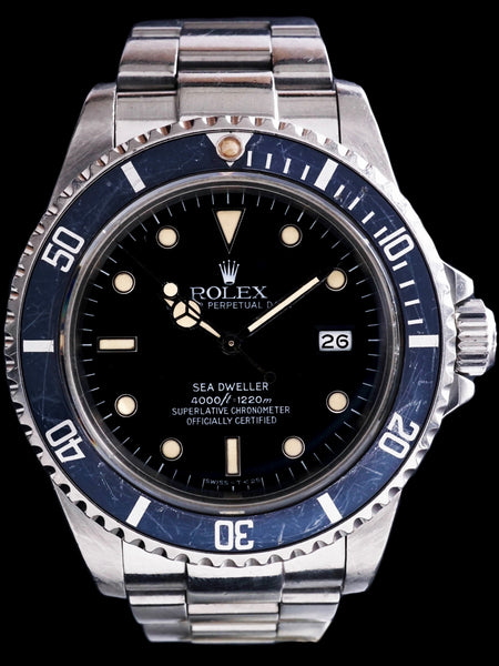 "1984 Rolex Sea-Dweller (Ref. 16660) ""Spider Dial"""