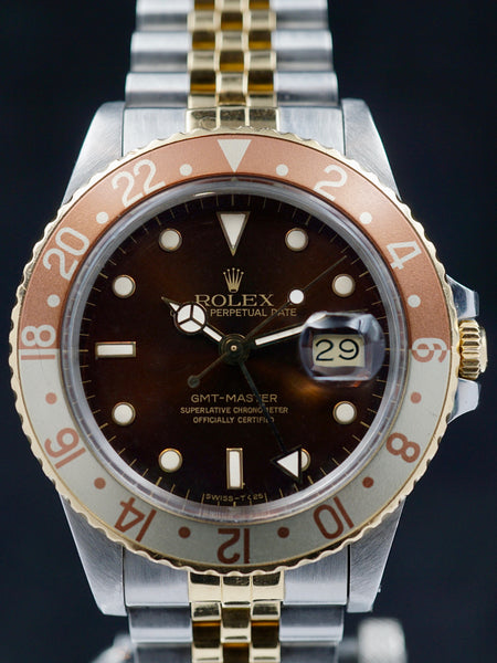 "1986 Rolex Two Tone GMT Master (Ref. 16753) ""Root Beer"""