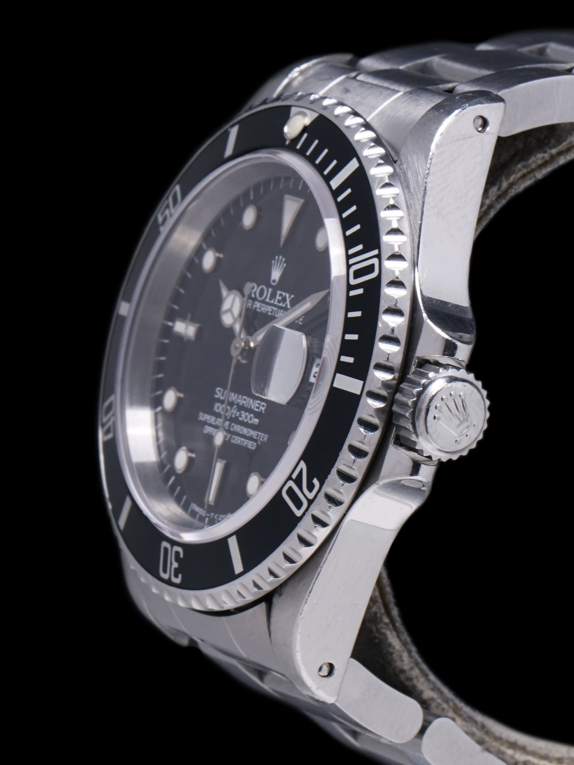 *Unpolished* 1994 Rolex Submariner (Ref. 16610) W/ Box and Papers