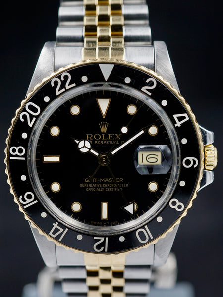 1987 Rolex Two Tone GMT Ref. 16753