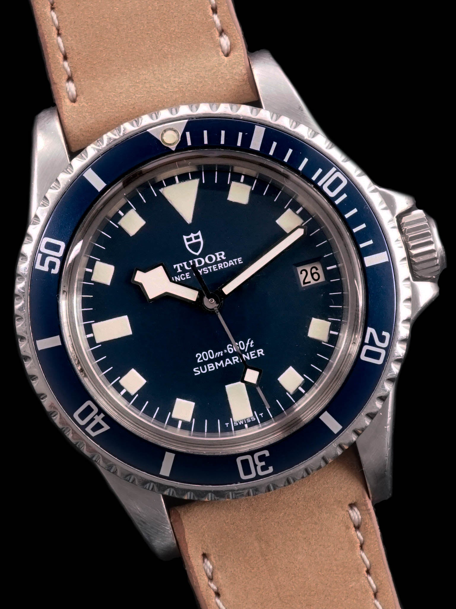 "1978 Tudor Blue Submariner (Ref. 94110) ""Snowflake"""