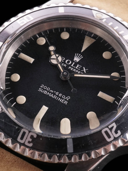 "1969 Rolex Submariner (Ref. 5513) ""Meters First"" w/ Kissing 40 bezel"