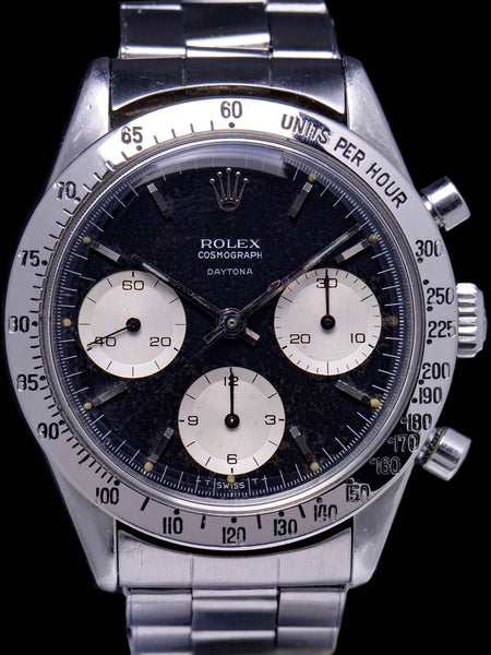 "***RARE*** 1964 Rolex Daytona (Ref. 6239) Double Swiss ""Floating Daytona"""