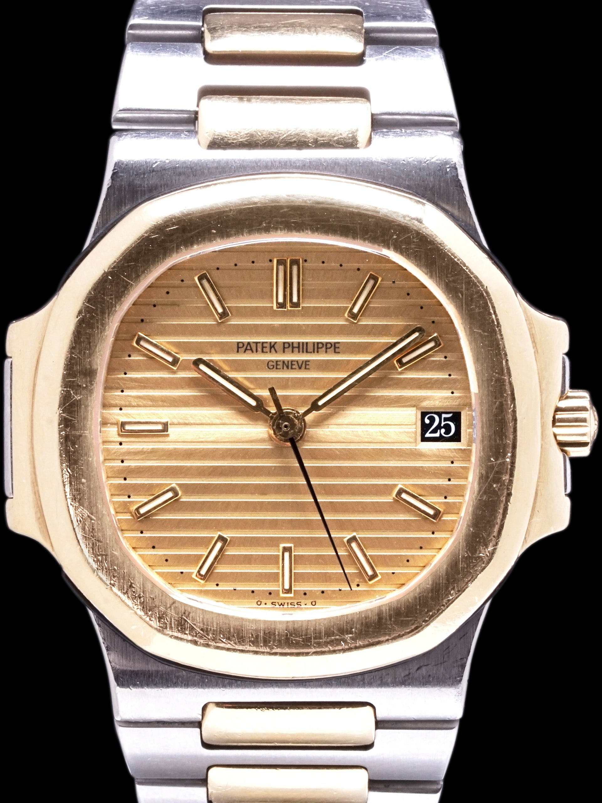 1988 Patek Philippe Two-Tone Nautilus (Ref. 3800/1) W/ Extract From Archive
