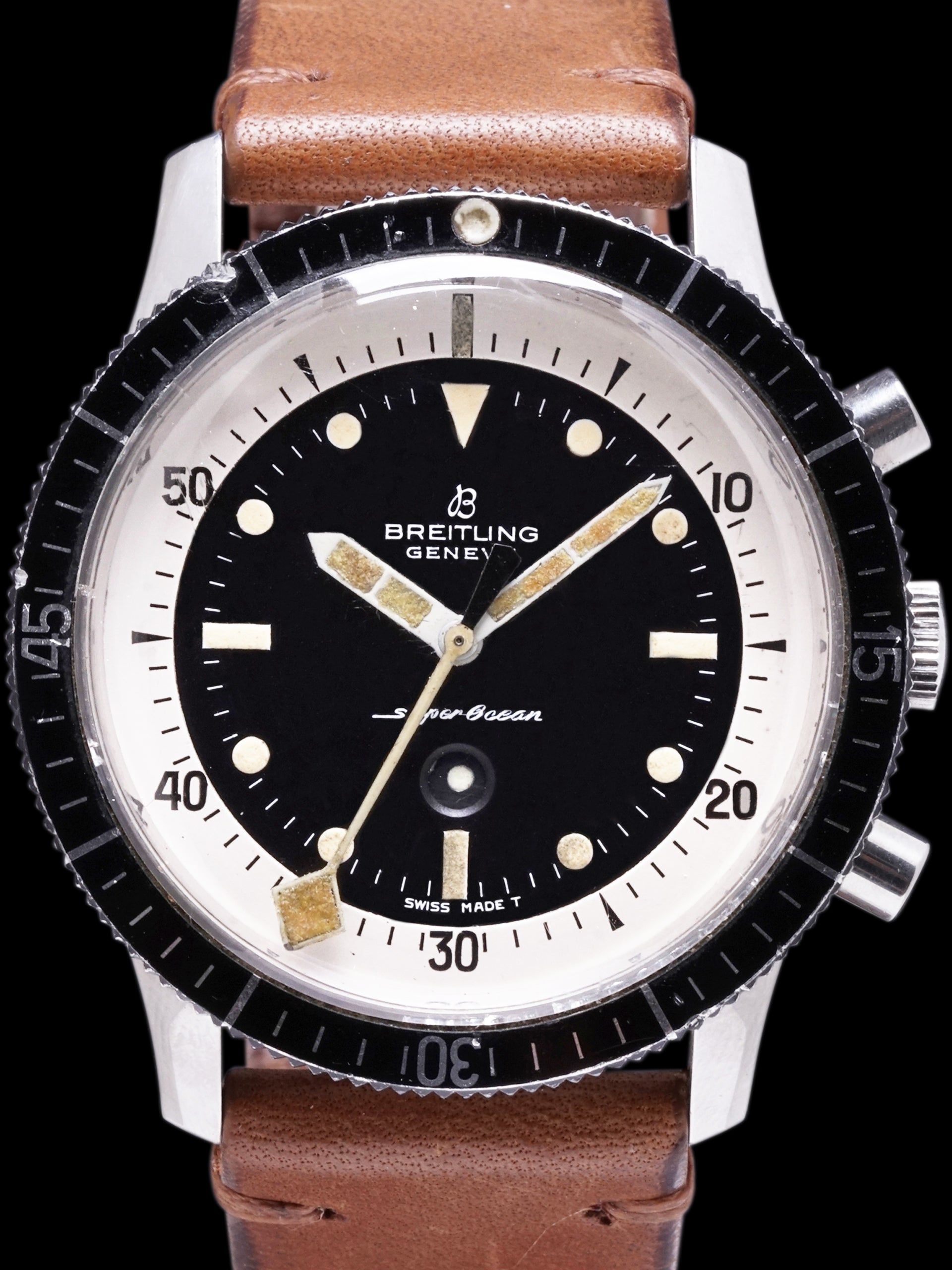 "1965 Breitling SuperOcean Chronograph (Ref. 2005) ""Minute Creeper"""