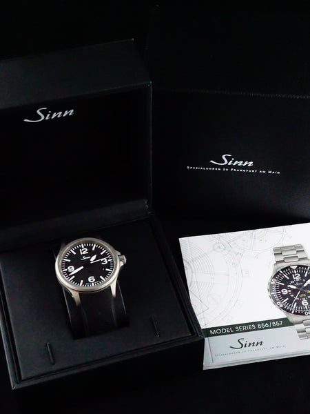 2016 Sinn Ref. 856 Pilot Watch (Box and Papers)
