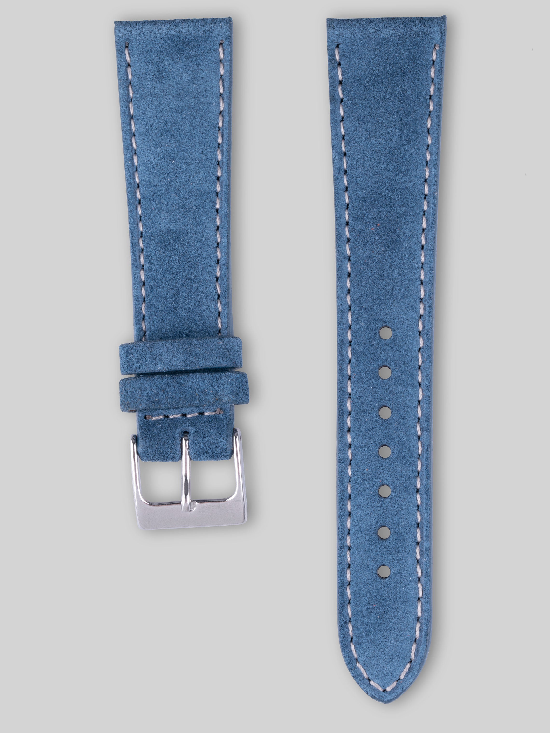 Suede Watch Strap - Aegean