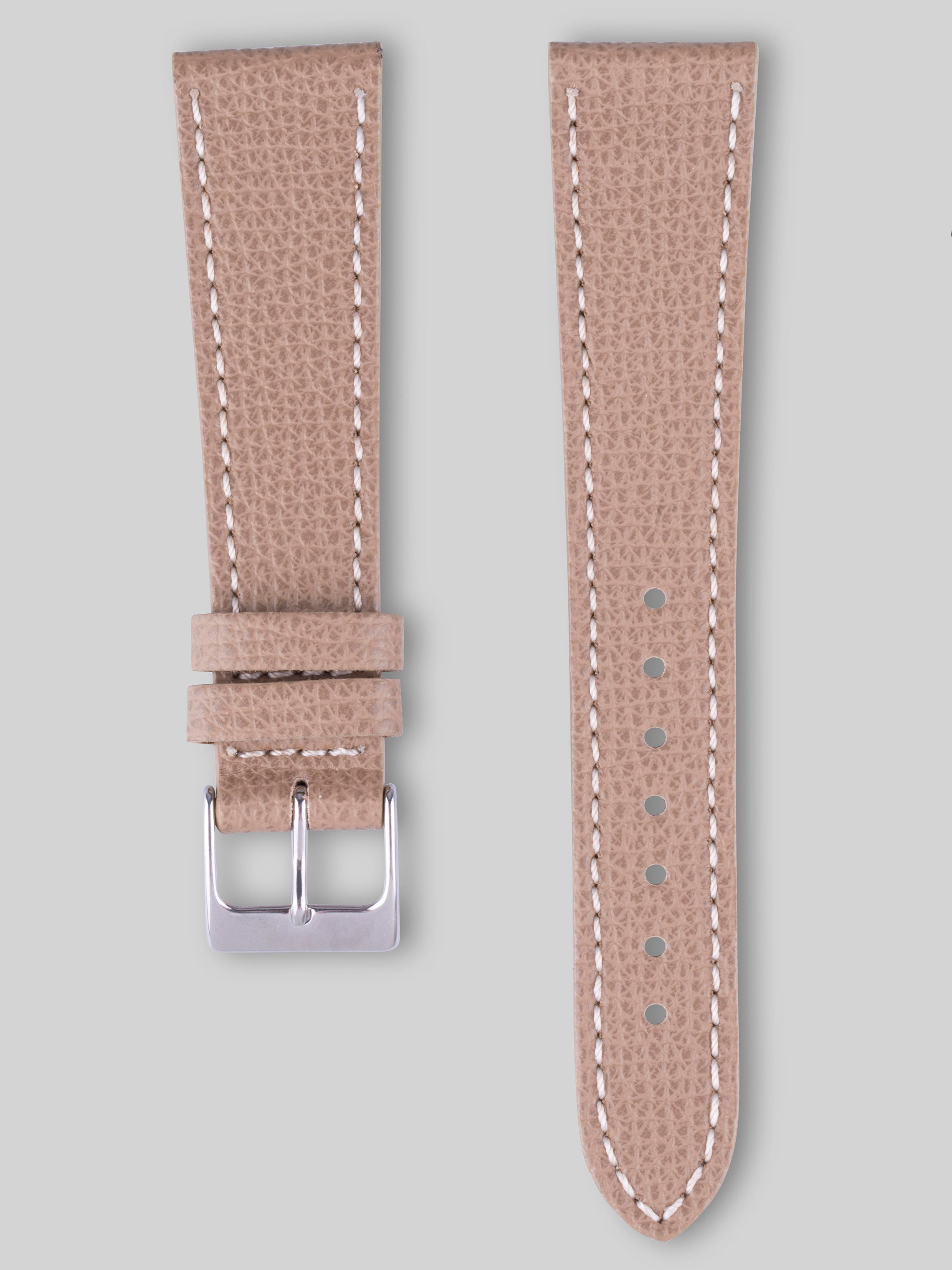 Textured Calfskin Watch Strap - Apollo