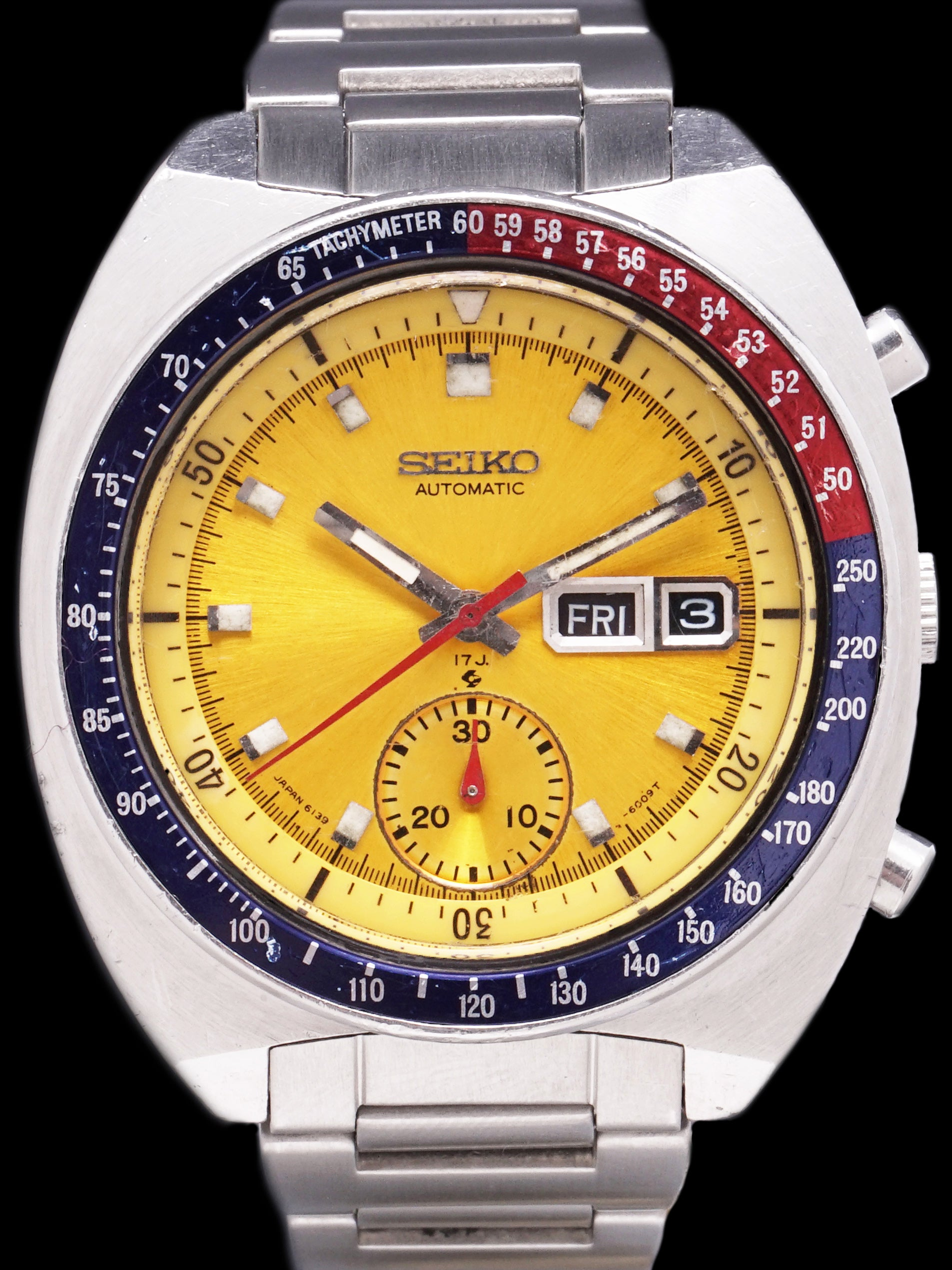 "1972 Seiko Chronograph (Ref. 6139-6005) ""Pogue"""