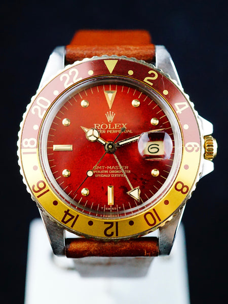"1981 Rolex Two Tone GMT ""Root Beer"" (Ref. 16753)"