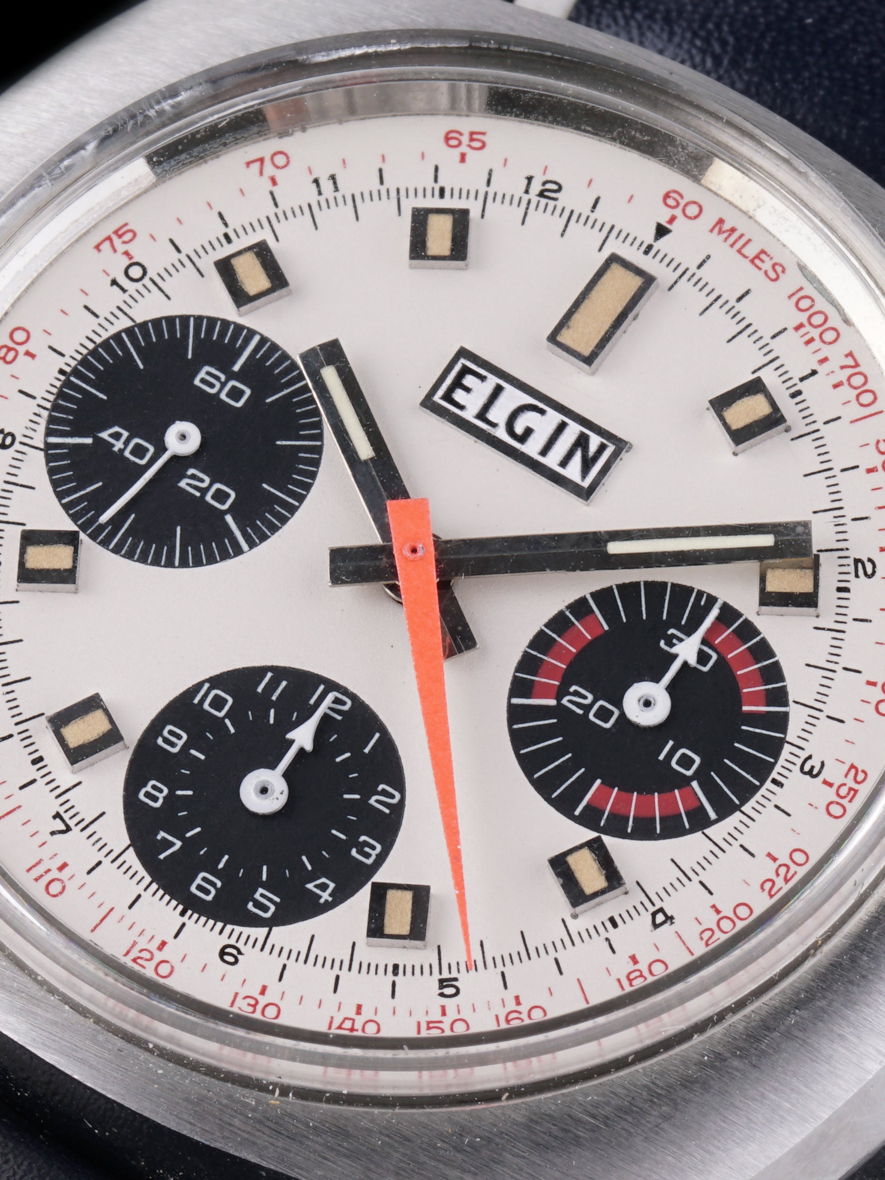 1960s Elgin Chronograph (Ref. 7452) W/ Box and Papers
