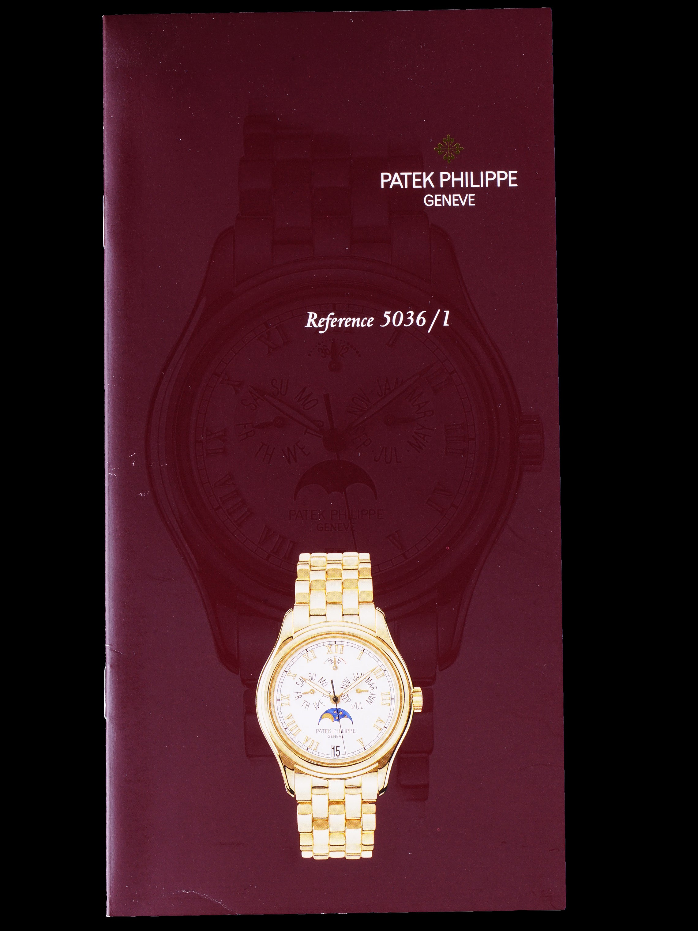 2002 Patek Philippe (Ref. 5036/1G) 18K WG W/ Box and Papers