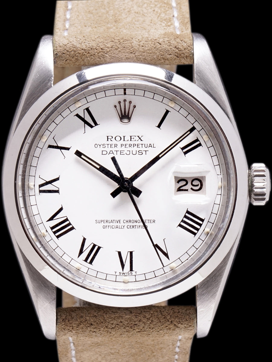 "1979 Rolex Datejust (Ref. 16000) ""White Buckley Dial"""