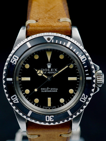"1971 Rolex Submariner Ref. 5513 ""Kissing 4 Bezel Insert"""