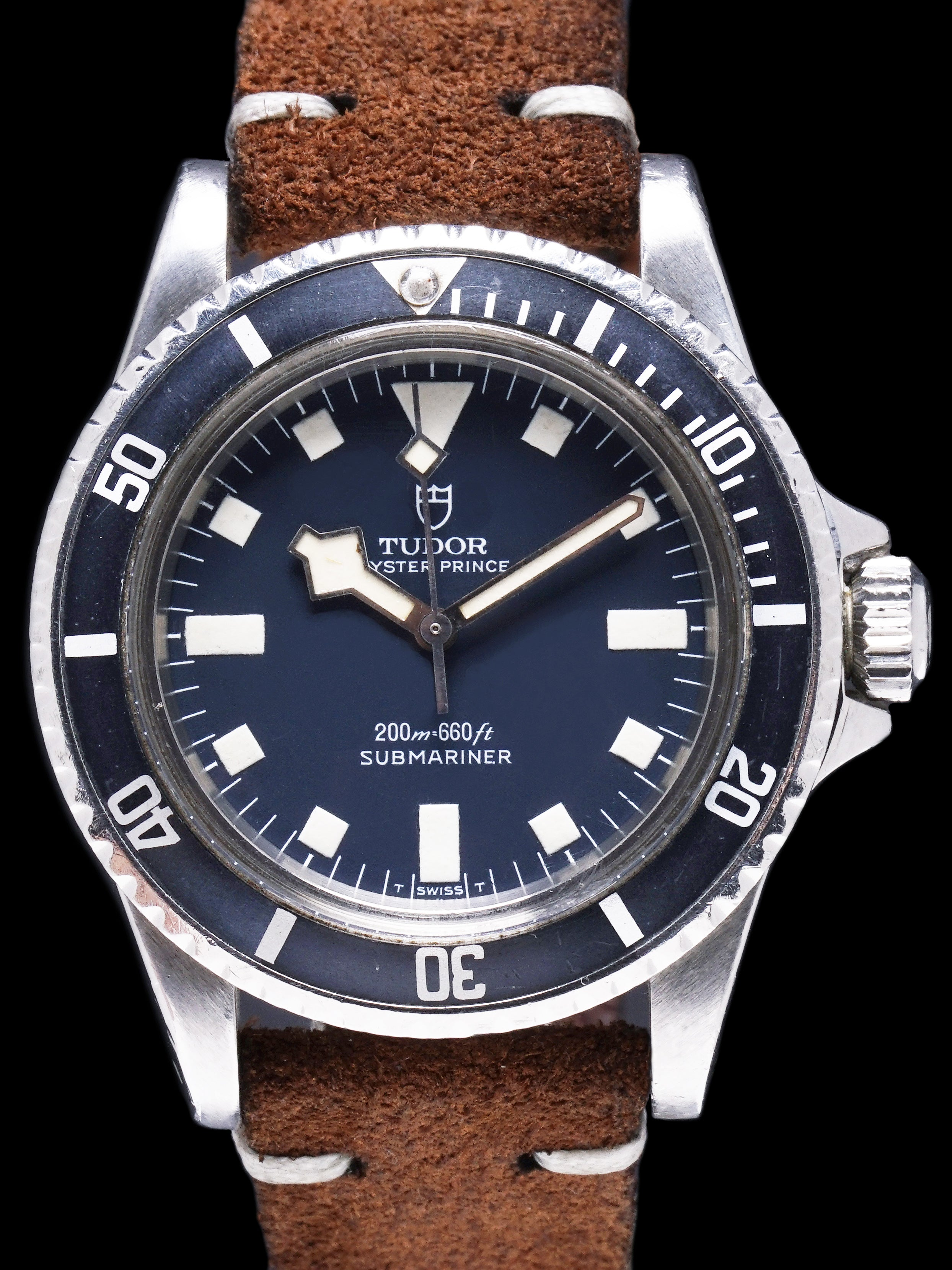"1978 Tudor Blue Submariner (Ref. 94010) ""Snowflake"""