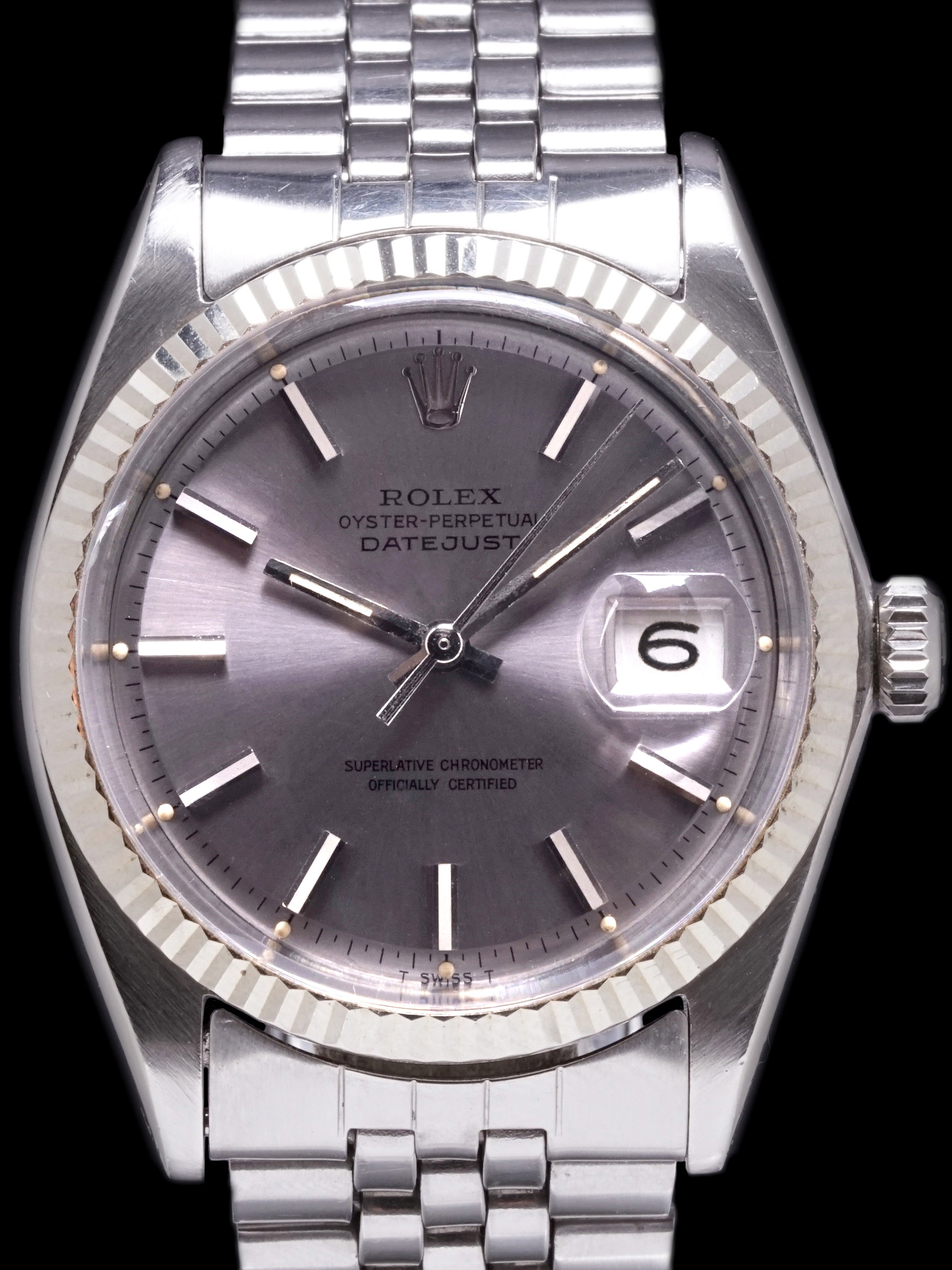 1968 Rolex Datejust (Ref. 1601) Grey Dial