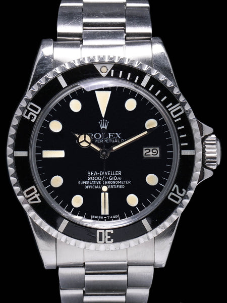 "1979 Rolex Sea-Dweller (Ref. 1665) Mk. III ""Great White"""