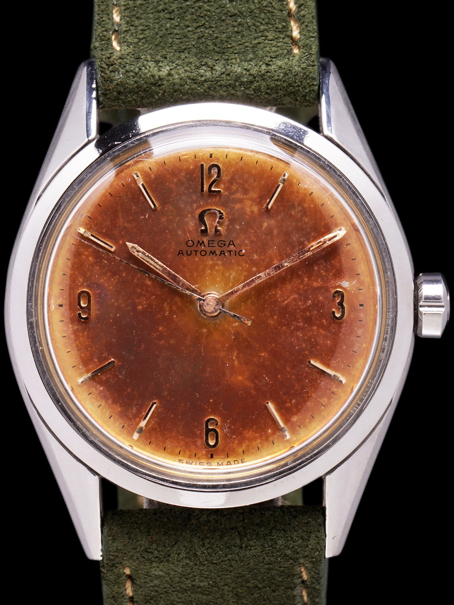Tropical 1954 Omega Seamaster (Ref. 2802-4 SC)
