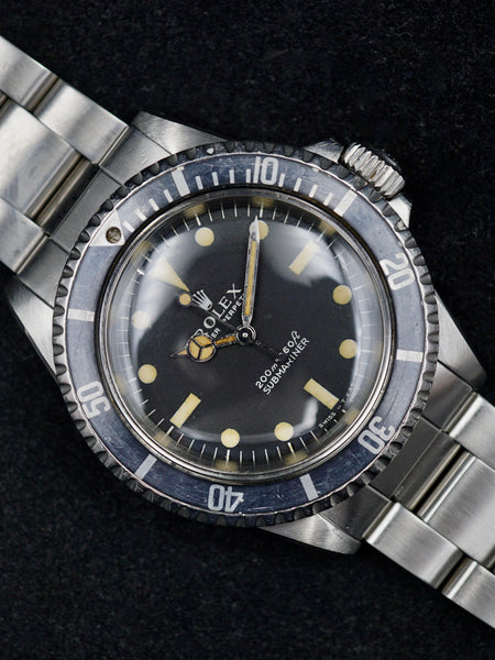 1969 Rolex Submariner 5513 Meters First