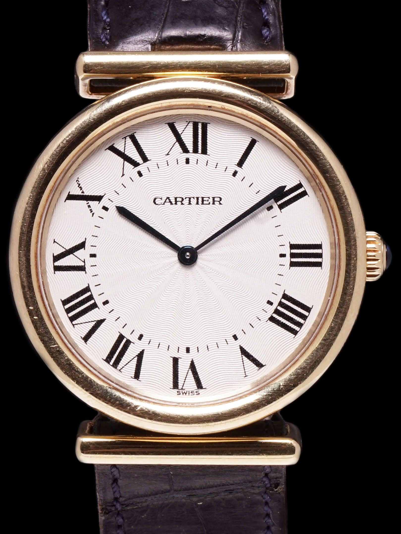 "2000s Cartier Vendome Bi-Plan (Ref. 2220) 18k YG ""Manual"""