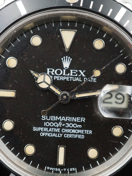 1984 Rolex Submariner (Ref.16800) Box and Papers