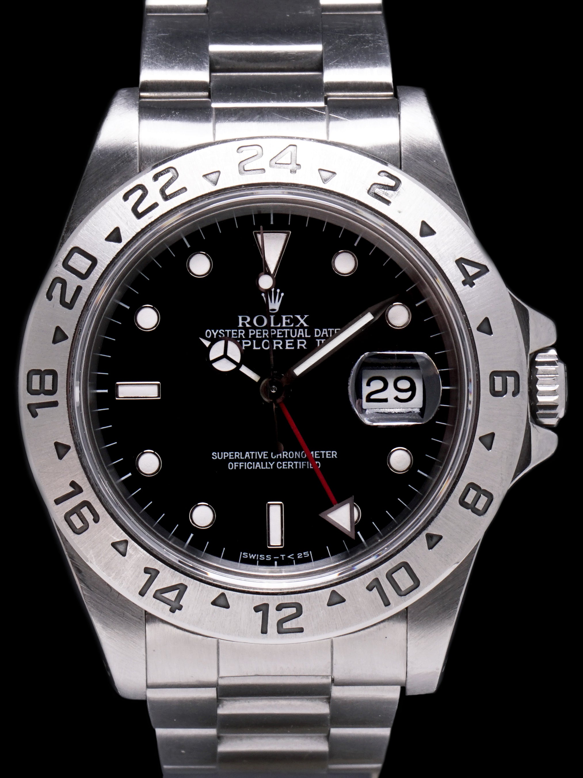 1991 Rolex Explorer II (Ref. 16570) Box, Papers, RSC Service Card