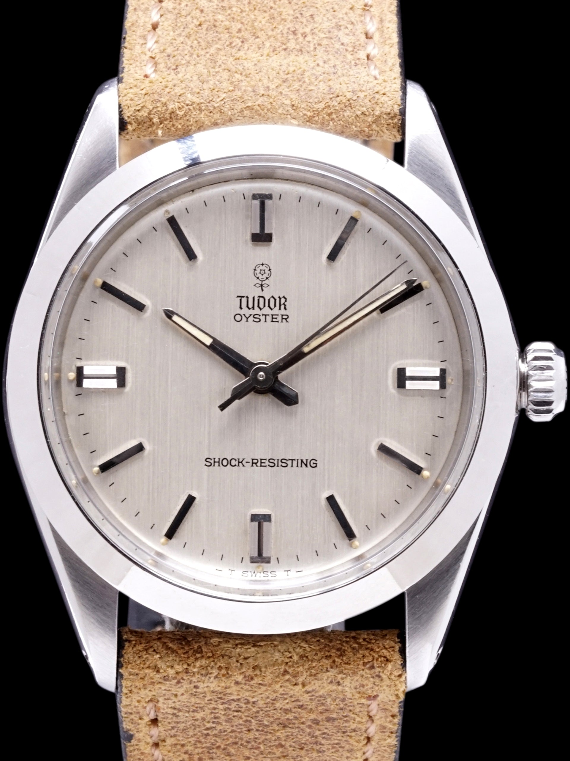 "1965 Tudor Oyster (Ref. 7984)""Manual Wind"" W/ Box"