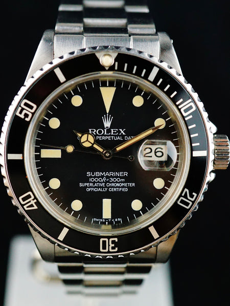 1984 Rolex Submariner (Ref.16800) With Box & Papers